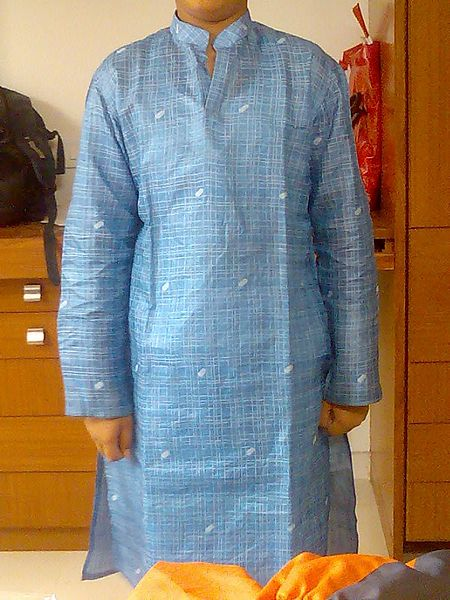Blue_khadi_kurta