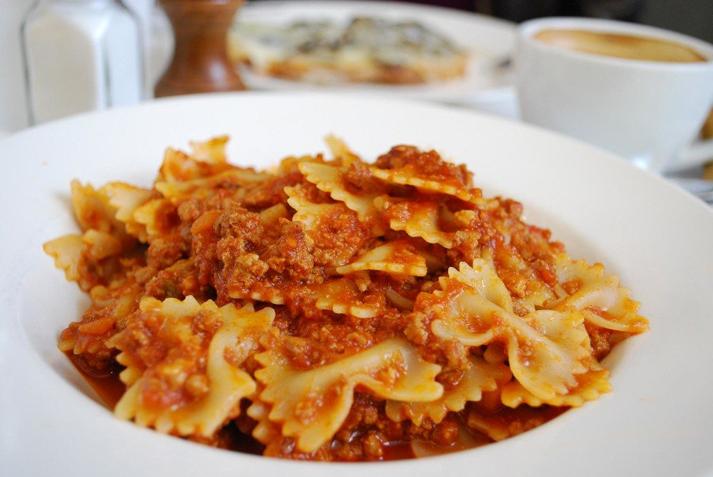 Types of pasta: Farfalle