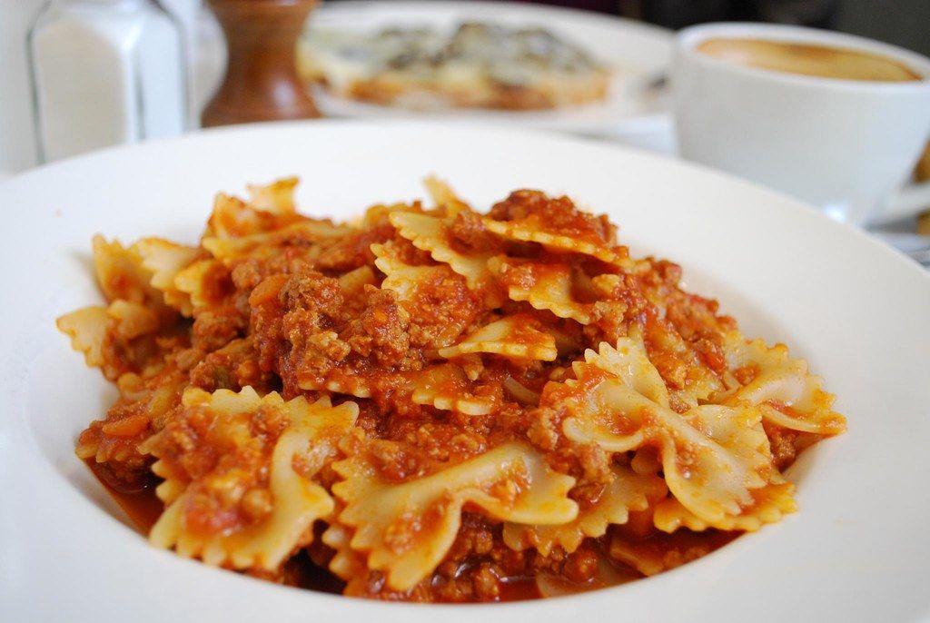 Types of pasta: Farfalle