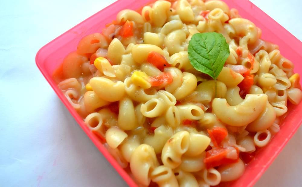 Types of pasta: Macaroni