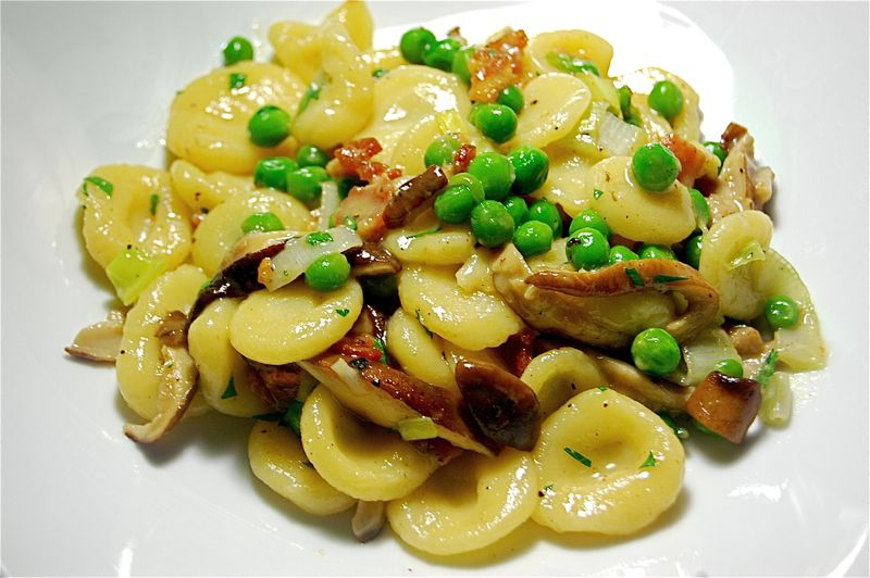 Types of pasta: Orecchiette