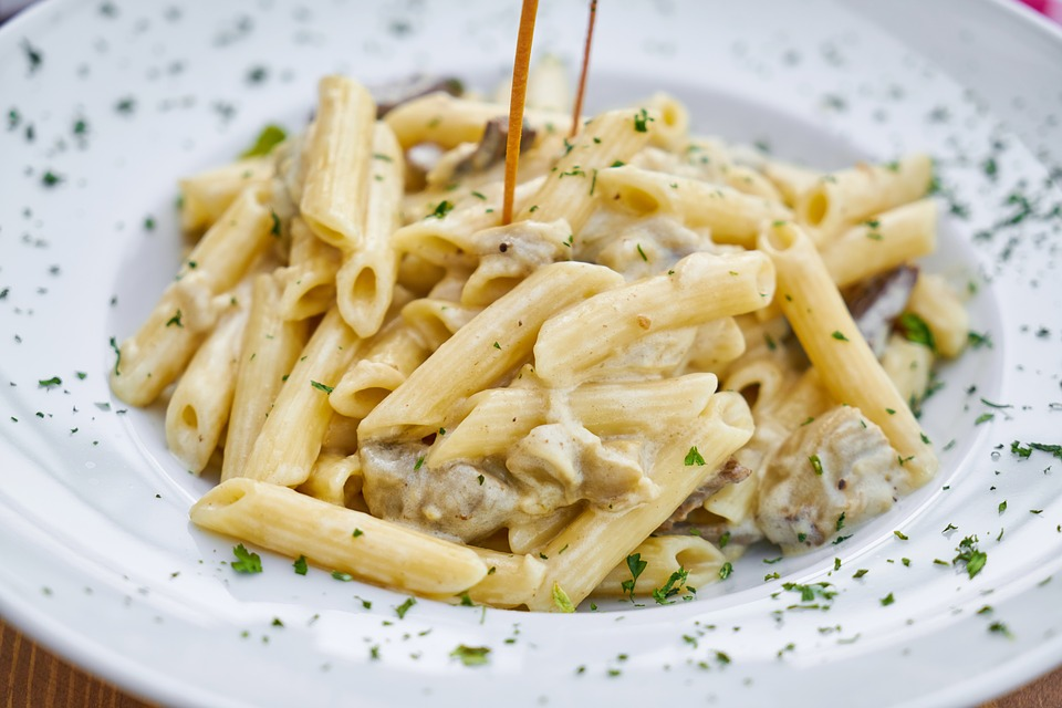 Types of pasta: Pene Pasta