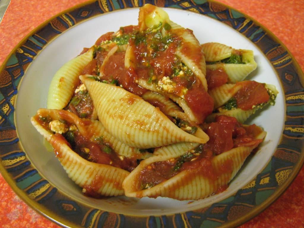 Types of pasta: Shells